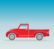 Side view of Old Pick up  Truck Stock Photography
