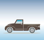 Side view of Old Pick up  Truck Royalty Free Stock Images
