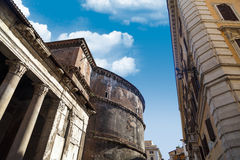 Side View of Pantheon Royalty Free Stock Photo