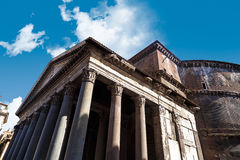 Side View of Pantheon Royalty Free Stock Photography