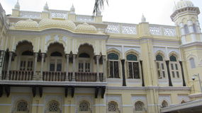 Side view. A part of Side view of Mysore City palace Royalty Free Stock Photos