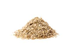 Organic Oat Bran Royalty Free Stock Photo