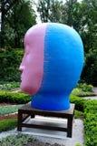 Jun Kaneko Ceramic Art Exhibit at the Dixon Gallery and Gardens in Memphis, Tennessee Royalty Free Stock Photo