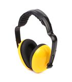 Side view of protective ear muffs. Stock Photo
