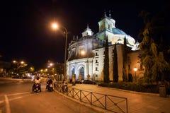 Side view of the Real Basilica de San Francisco el Grande Stock Image