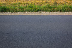 Side view of road Royalty Free Stock Photography
