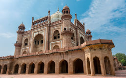 Side view of SafdarJung's Tomb Royalty Free Stock Photos