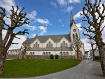 Side view of the saint Johannes church, Stavanger, built by  Jacob Sparre in 1909 Stock Image