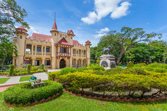 The side view of Sanam Chandra Palace Stock Photos