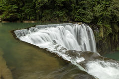 Side view of Shifen Waterfall in Taiwan Royalty Free Stock Image