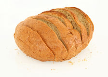 Side View Of Sliced Bread Royalty Free Stock Images