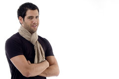 Side view of smiling male Royalty Free Stock Images