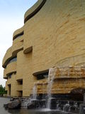 Side view of Smithsonian National Museum of the American Indian Stock Photos