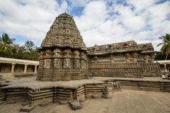 Side view of Somnathpur Temple Royalty Free Stock Photography