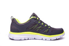 Side view of sport shoe Royalty Free Stock Images