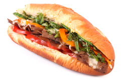 Side view sub sandwich Stock Photography