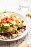 Side view of Taco Salad Royalty Free Stock Photo