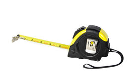 Side view tape measure isolate Royalty Free Stock Image