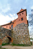 Side View of Trakai Castle Stock Photos