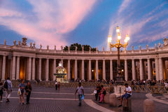 Side View of Vatican Stock Images