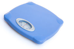 Side view weight scale Stock Images