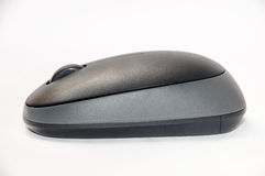 Side view of wireless mouse Stock Photos