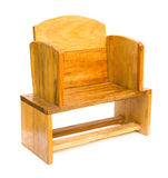 Side view wooden chair Stock Image
