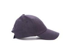 Side view of working peaked cap.