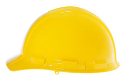 Isolated Hard Hat - Side Yellow Royalty Free Stock Photography