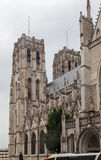 Brussels Cathedral Royalty Free Stock Photos