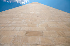 Side Washington Monument Sandstone United States Royalty Free Stock Images