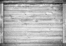 Side of white scratched wooden crate, box, wall or frame. Royalty Free Stock Photography