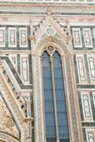 Side window of the Cathedral of Brunelleschi Stock Photo