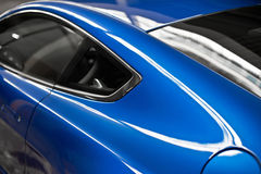 Side window of a coupe Royalty Free Stock Photo