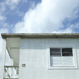 Side Window Of Modest Home Stock Images