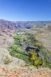 Sidearm del canyon di Waimea, Kauai Fotografie Stock