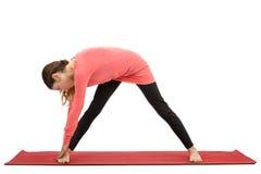 Sidebody stretching Stock Photo