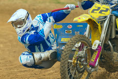 Sidecar Cross Race (Detailed view) Royalty Free Stock Photography