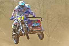 Sidecar jump Royalty Free Stock Photos
