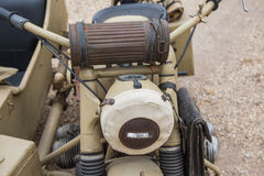 Sidecar military Stock Photo