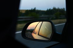 Sidecar mirror Royalty Free Stock Photo