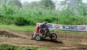Sidecar motocross Royalty Free Stock Photos
