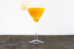Sidecar orange Image libre de droits