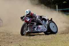 Sidecar race Stock Images