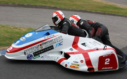 Sidecar Racing, Cock o' the North, Oliver's Mount Royalty Free Stock Images
