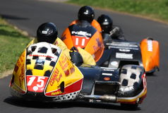 Sidecar Racing, Oliver's Mount Stock Image