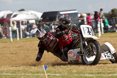 Sidecar racing Royalty Free Stock Images