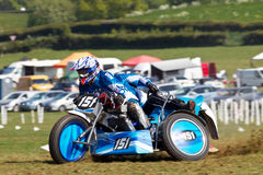 Sidecar racing team Royalty Free Stock Image
