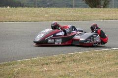 Sidecar. World championship at Grobnik in Croatia 15.6.2014 stock images