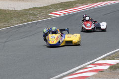 Sidecar 5. Sidecar world championship at Grobnik in Croatia 15.6.2014 Stock Photography